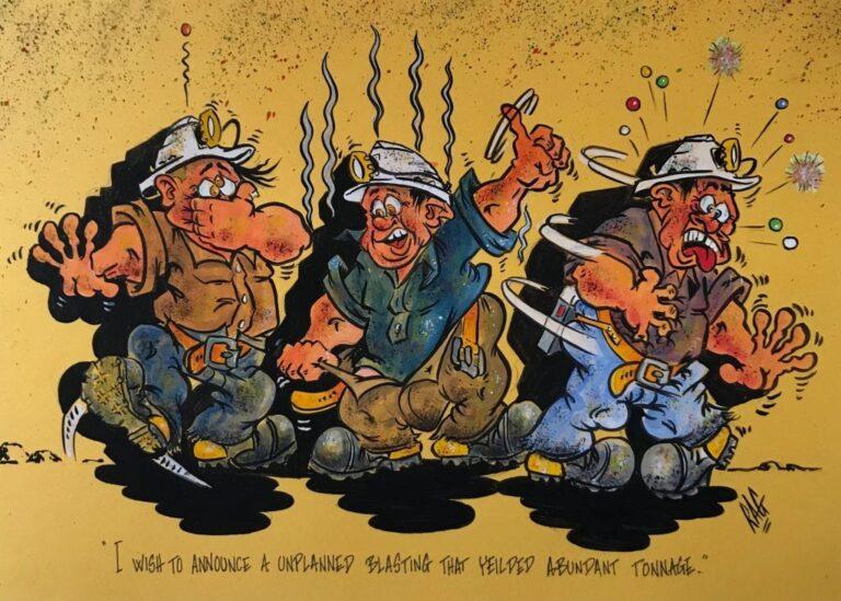 Robert Groves - Cartoon artist - The Lodge Outback Motel