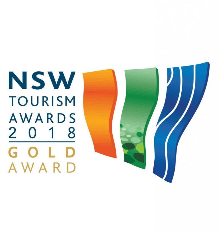 We won GOLD | NSW Tourism Award 18